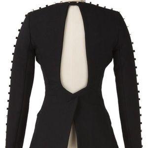 Alexander Wang Runway Studded Black Blazer